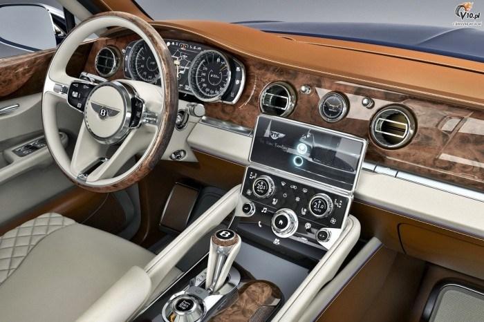 La Sortie Du Nouveau Suv De Bentley Falcon Est Pr 233 Vue Pour