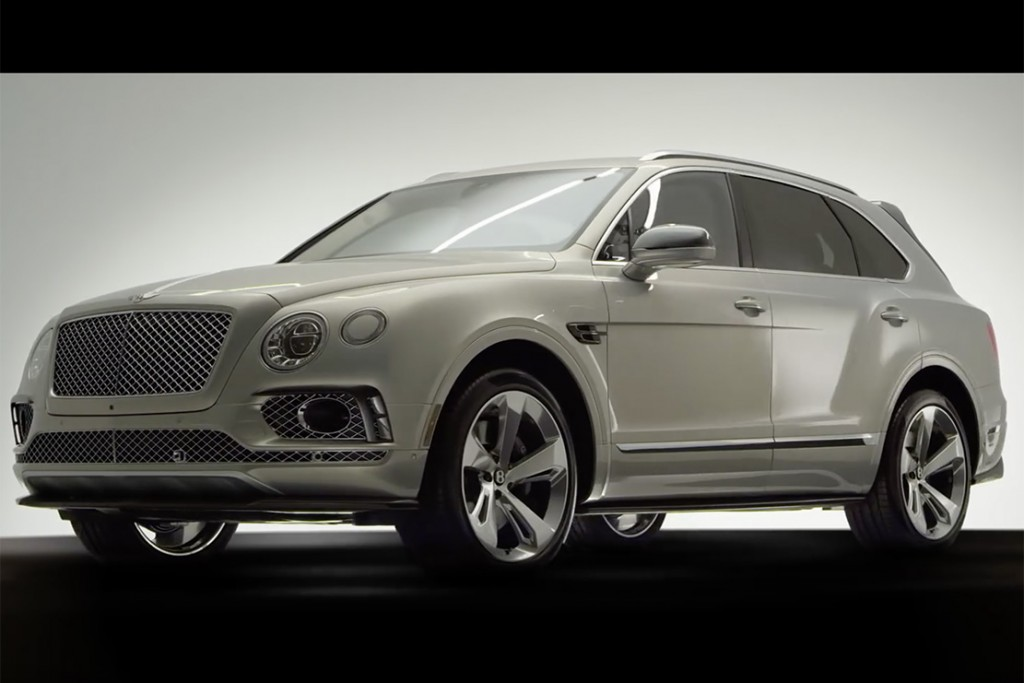 le bentley bentayga le plus puissant et le plus luxueux des suv. Black Bedroom Furniture Sets. Home Design Ideas